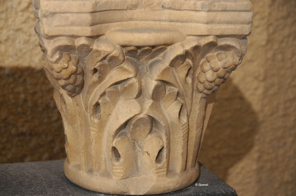 chapiteau acanthe arum XII