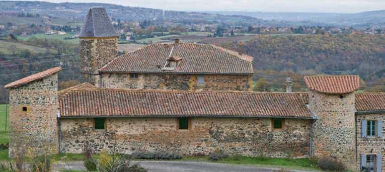 maison forte de l'Abbaye de Savigny