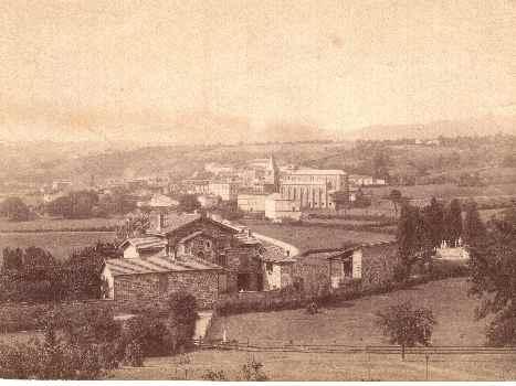 abbaye vers 1880