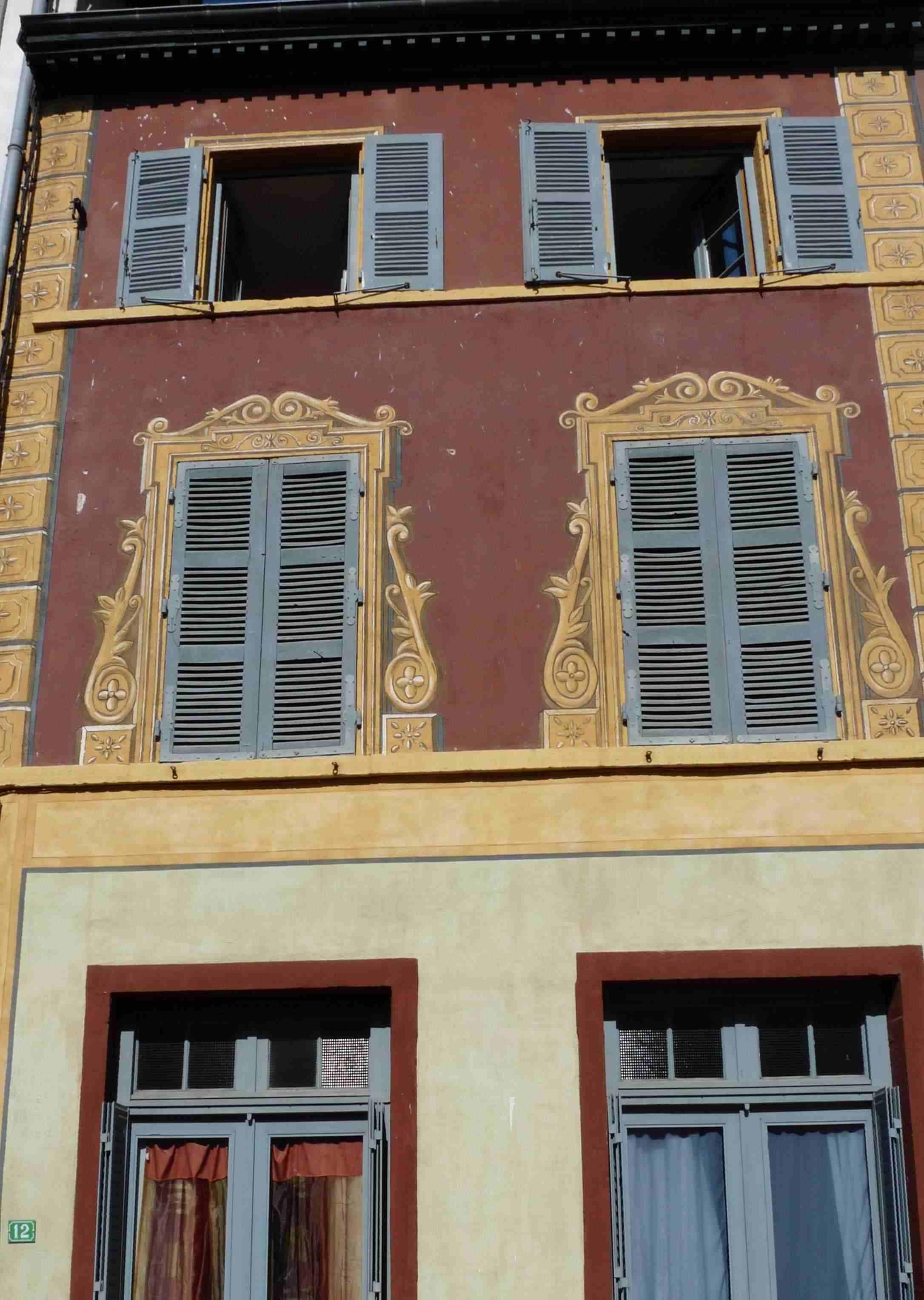maison peinte