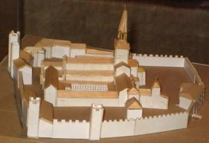 Maquette de l'Abbaye