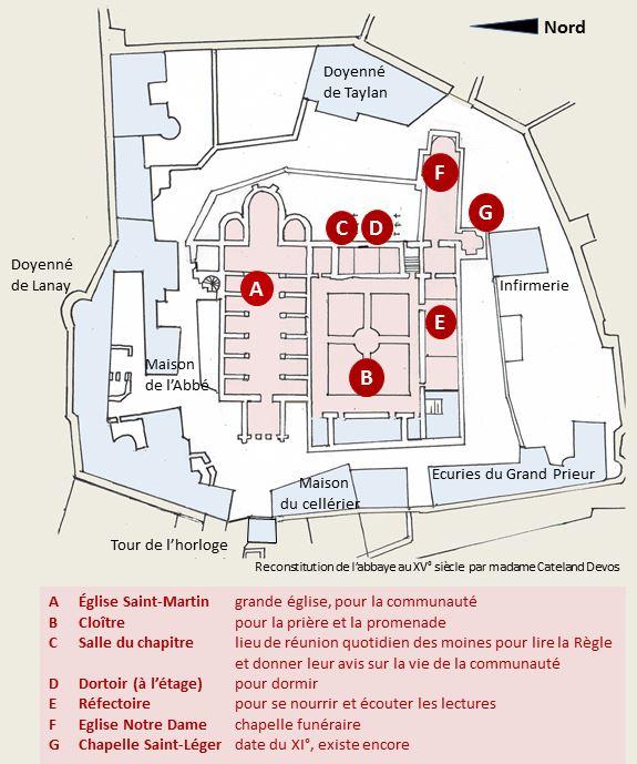 plan abbaye bat detruit