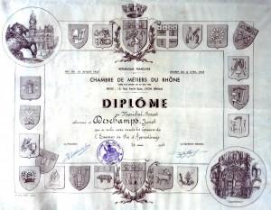 Diplôme Deschamps