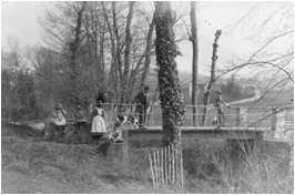 Ancien pont près du Rigot - Savigny