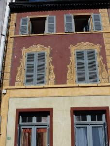 maison peinte savigny