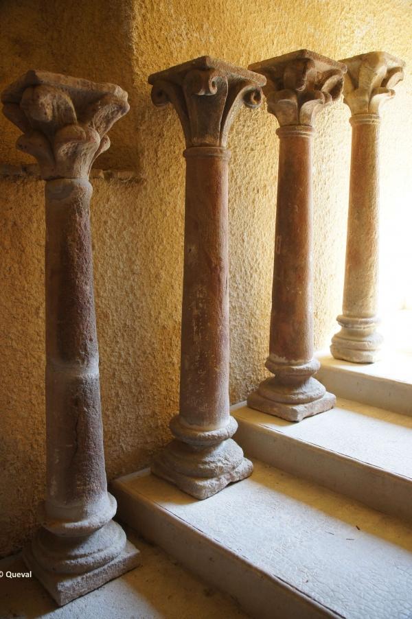 colonnes du cloitre XII